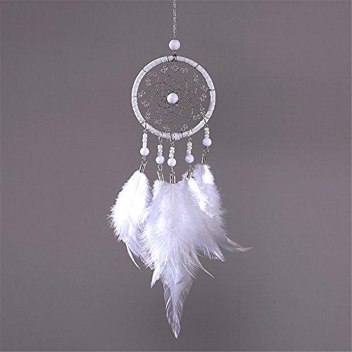 Yunt Dream Catcher circulaire Net avec perles Home Mur Décoration à suspendre