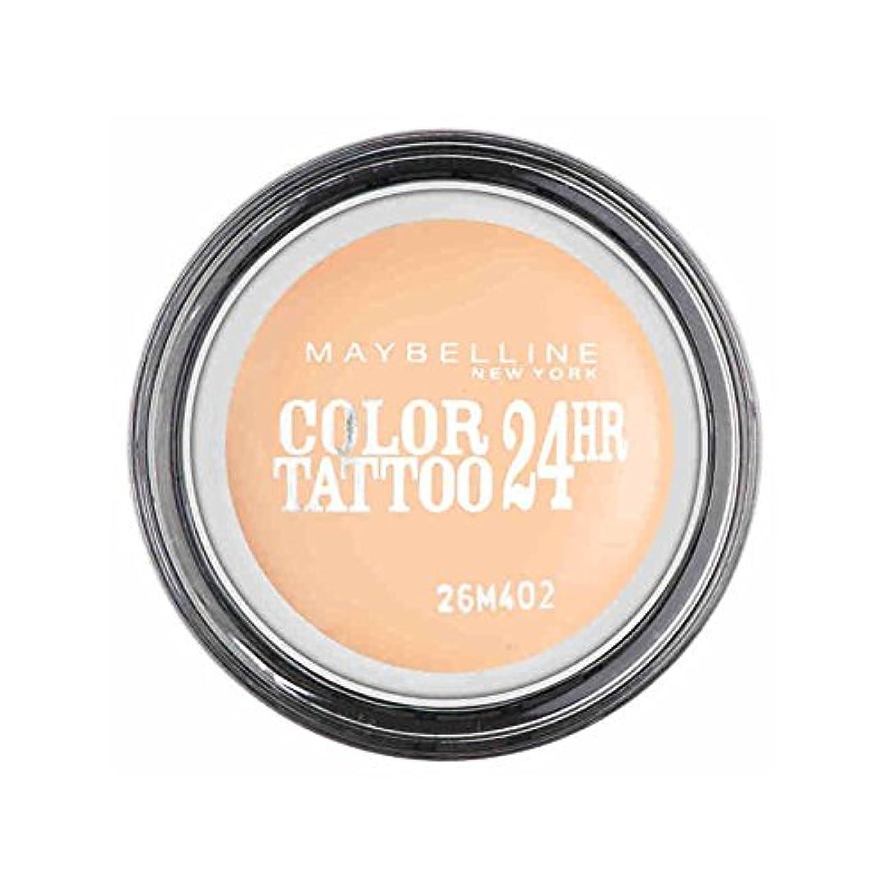 辞任する以上メディアメイベリンカラータトゥー24時間アイシャドウクリーミーマット93 x4 - Maybelline Color Tattoo 24Hr Eyeshadow Creamy Matte 93 (Pack of 4) [並行輸入品]