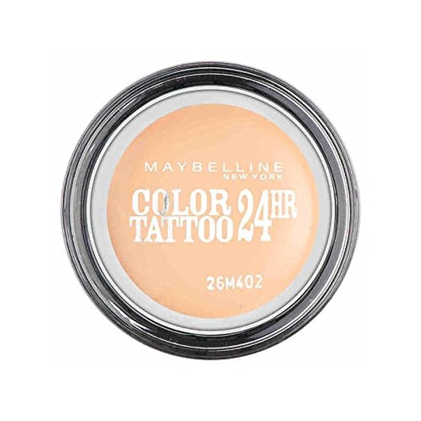 ハイブリッドアピールデモンストレーションメイベリンカラータトゥー24時間アイシャドウクリーミーマット93 x2 - Maybelline Color Tattoo 24Hr Eyeshadow Creamy Matte 93 (Pack of 2) [並行輸入品]