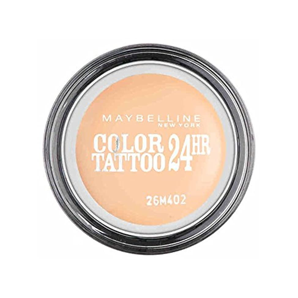 くちばし正しい世代メイベリンカラータトゥー24時間アイシャドウクリーミーマット93 x4 - Maybelline Color Tattoo 24Hr Eyeshadow Creamy Matte 93 (Pack of 4) [並行輸入品]