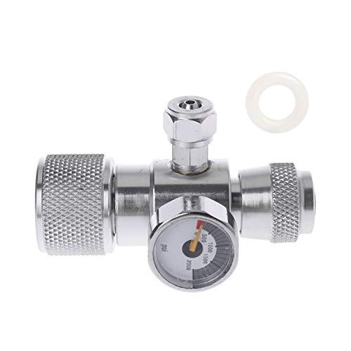 NKJH Das elektromagnetische Ventil Manometer JIS M22-14 Regler Manometer über 1500PSI Zylinder Reducer Industriebedarf