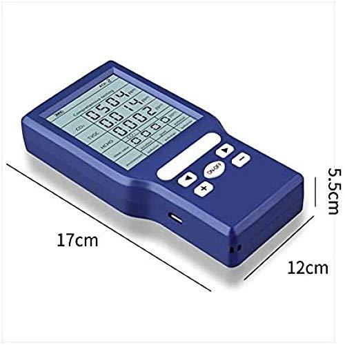 MIZUAN Co2 Verkehrsalarm Monitor Auto Air QualitäT Digitale Kohlendioxid Wohnzimmer FüR Home Gas Analyzer Tester Co2 Detektor Hintergrundbeleuchtung LCD Display