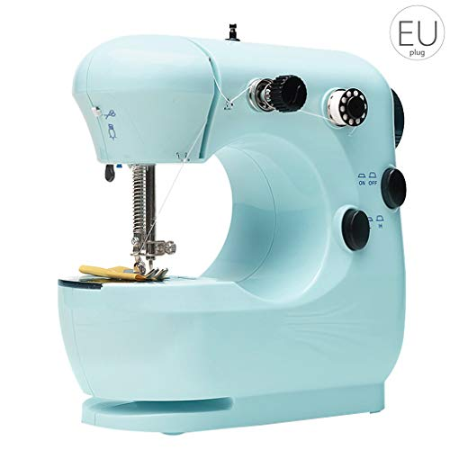Amazing Deal Mini Electric Sewing Machine Portable sewing machine,Free-arm crafting Household Sewing...