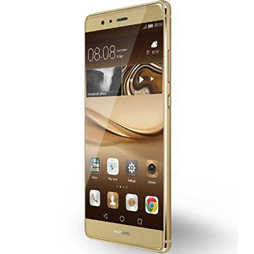 Huawei P9 Plus Dual SIM Smartphone (5,5 Zoll Touch-Display, 64GB interner Speicher, Android OS, 4GB geheugen) Gold