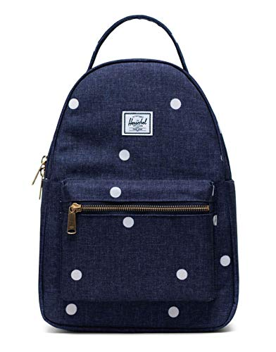 Herschel Nova X-Small Backpack Polka Dot Crosshatch Peacoat