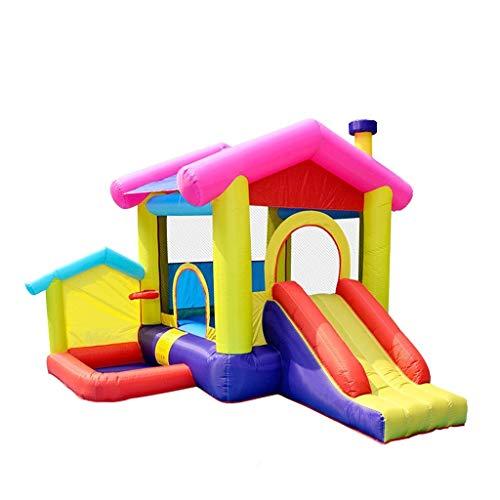 Bouncy Kastelen Opblaasbare Kasteel Slides Kinderen Opblaasbare Paradijs Trampoline Outdoor Grote Amusement Park Ondeugend Fort
