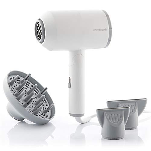 Innovagoods Innovagoods - Secador De Pelo Iónico Plegable Con Accesorios Ventio 1600W 850 g