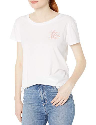 Volcom Easy Babe Rad-T-Shirt für Damen, lockere Passform, kurzärmelig - Weiß - Groß