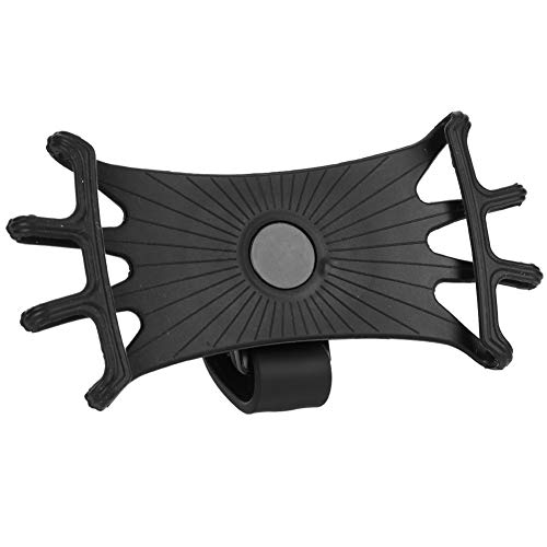 RiToEasysports Soporte Giratorio Universal de 360 ° para teléfono, Soporte para teléfono Celular a Prueba de Golpes para Bicicleta, Motocicleta