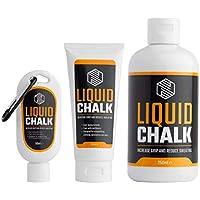 MAGNESIO LÍQUIDO | Liquid Chalk | Manos Libres de Sudor y Agarre Superior para Levantar Pesas, Escalar, Bouldering o Escalada, Gimnasia Rítmica, Baile y Fitness en Barra Americana, Musculación