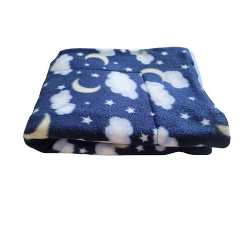 Fleece Cage Liner | Multiple Prints & Sizes | Midwest | C&C | Guinea Pig Fleece | Hedgehog Fleece | Reversible | Machine Washable (1x2 C&C (14