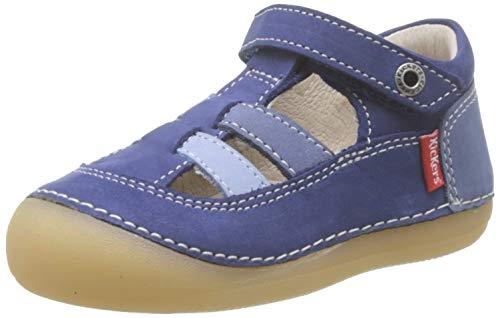 Kickers Baby Jungen Sushy Sandalen, Blau (Bleu Tricolore 53), 19 EU