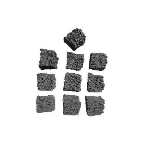 coals 4 you 2 packs of coals 10 small & 10 medium Gas fire Replacements/Bio Fuels/Real flame in packing, Black