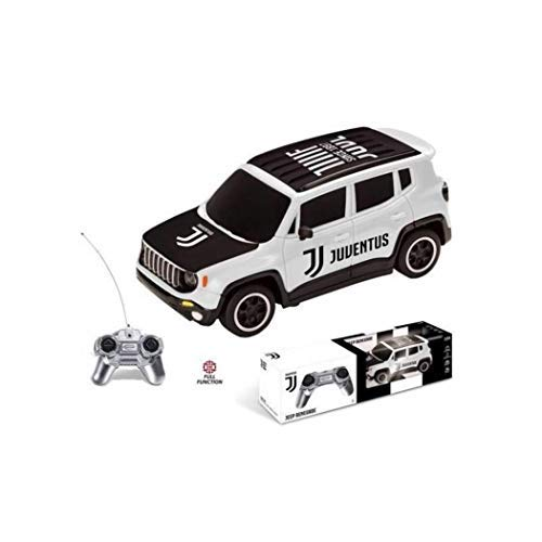 Mondo Motors- Jeep Renegade F.C. Juventus - auto Radiocomandata -Colore Bianco Nero - Scala 1:24 - 63555