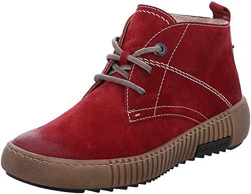 Josef Seibel Damen Winterstiefel Maren 02, Frauen Stiefel,Winter-Boots,Schnürstiefel,gefüttert,warm,rot,36 EU / 3 UK