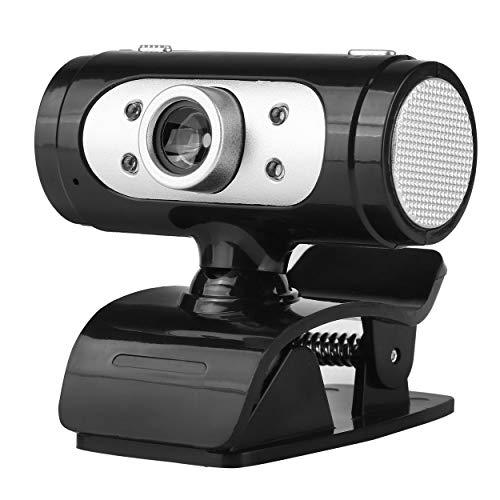 AnamSafdarButt59 Mikrofon-Breitbild-USB-Computerkamera HD-Streaming-Webcam Dynamische Auflösung für Desktop-Notebook-Videoanruf