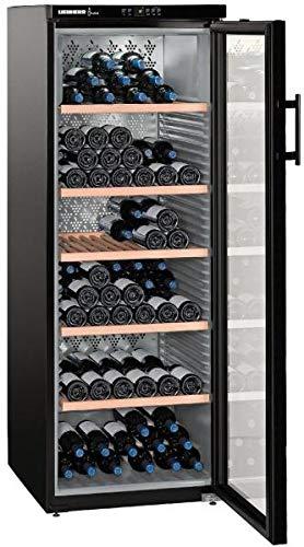 Liebherr WKb 4212-20 Vinothek - Armadio climatizzatore per vino, max. 200 bottiglie, larghezza 60 cm, colore: Nero