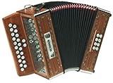 ACORDEON DIATONICO - Hohner (A/2660) (Merlin GC) (Ideal Musica Gaelica) (Dorado con Estuche)