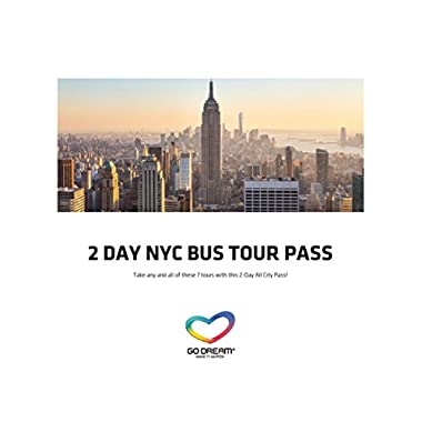 2 Days New York Bus Tour Pass Experience Gift Card NYC - GO DREAM - Sent in a Gift Package