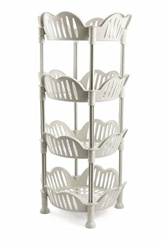 Galileo Casa 2192209 Küchenwagen aus Kunststoff, Weiß