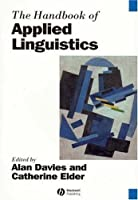 The Handbook of Applied Linguistics by Unknown(2006-01-09)