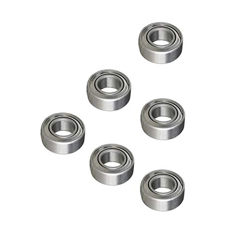LJQSS Suave 2pcs 440 Acero Inoxidable SMR105 SMR105RS SMR105-2RS SMR105ZZ SMR105 Rodamiento de Bolas de Ranura Profunda 5x10x4mm Rodamiento de Bolas Corre rápido (Size : ZZ (Metal Seals))