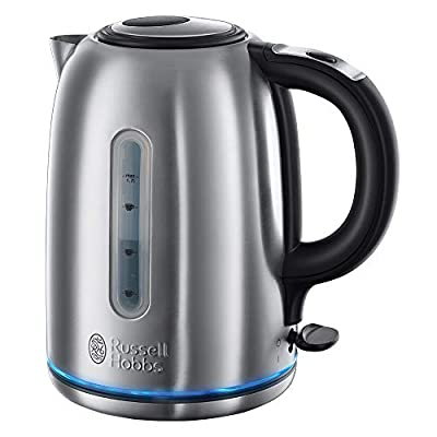 Russell Hobbs Buckingham Quiet Boil 1.7 L 3000 W Kettle 20460 - Brushed Stainless Steel Silver from Russell Hobbs