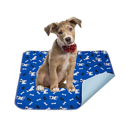 Yangbaga Washable Pee Pad for Dogs, 36x64in Extra Large Non Slip Puppy Pad, Extra Thick Whelping Pad with Great Urine Absorption, Odor Control Training Pad (1623.6 in(Pack of 4))
