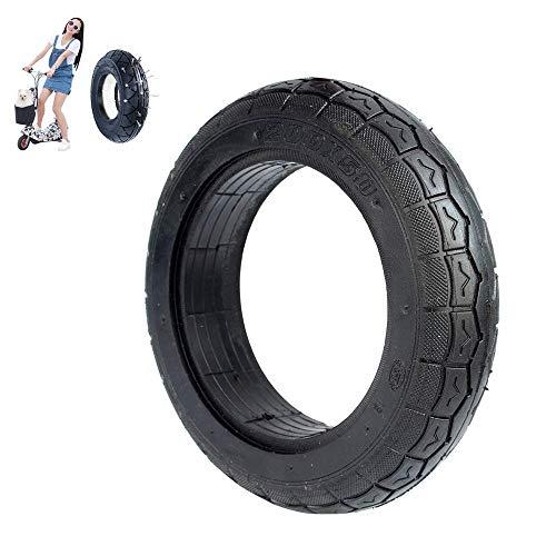 Neumáticos para patinetes eléctricos, 200 x 50 8 Pulgadas engrosados, neumáticos sólidos a Prueba de explosiones, Resistentes al Desgaste y no inflables, Patines eléctricos Antideslizantes, accesori