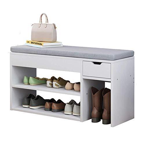 N/Z Equipo para el hogar Organización para Almacenamiento de Zapatos Banco de...