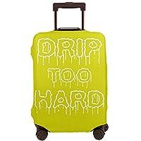 Lil Baby Drip Too Hard リル?ベイビー スーツケースカバー ラゲッジカバー キャリーカバー 丈夫 伸縮 防塵 傷防止 汚れ対策 旅行 出張 盗難防止 キズ保護 便利 3dプリント 個性的 4サイズ