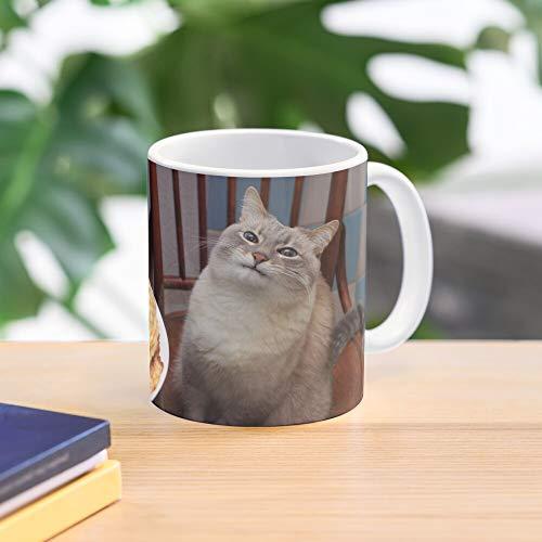 5TheWay 4Chan Cat Blini Animal Pancake KOT Animals Facebook Cat Pancake 8Chan Best 11 oz Kaffeebecher - Nespresso Tassen Kaffee Motive