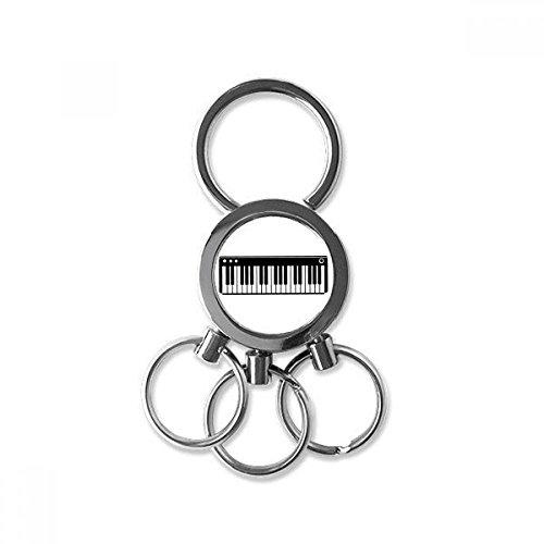 DIYthinker Eléctrica Vitalidad Música De Piano Suena Metal Del Acero Inoxidable Regalo...