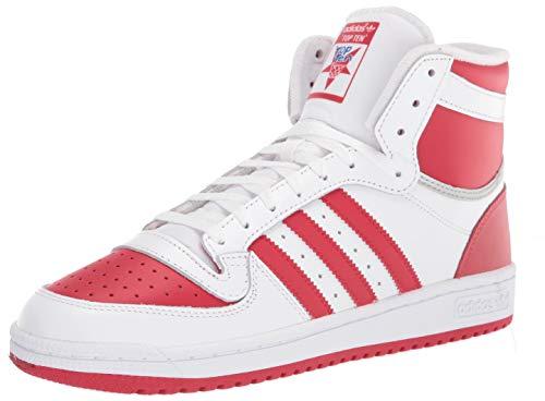 adidas Originals Baskets pour homme Top Ten Rb, blanc (Blanc/écarlate/argenté.), 41 EU