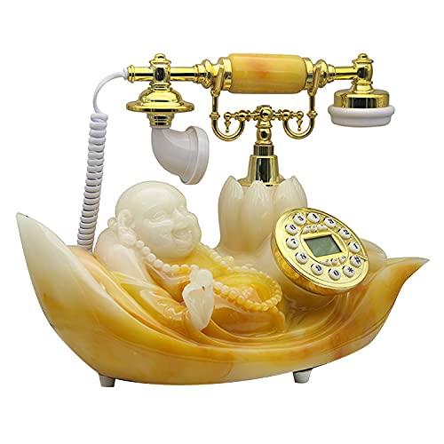 Teléfonos Antiguos, Teléfonos Retro, Teléfonos Fijos Fijos, Teléfonos Maitreya Clásicos De Moda Y Creativos, Adecuados para La Colocación De Oficinas En El Hogar.