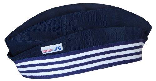 Modas Schiffchen - Matrosenmütze für Kinder und Erwachsene, Farbe:navyblau, Größe:Größe 3 - M = Erwachsene