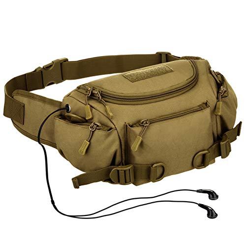 DKzyy heuptassen mannen messenger bags casual multifunctionele camera reistas mode schouder rijden schoudertassen voor outdoor sporten, ArmyGreen