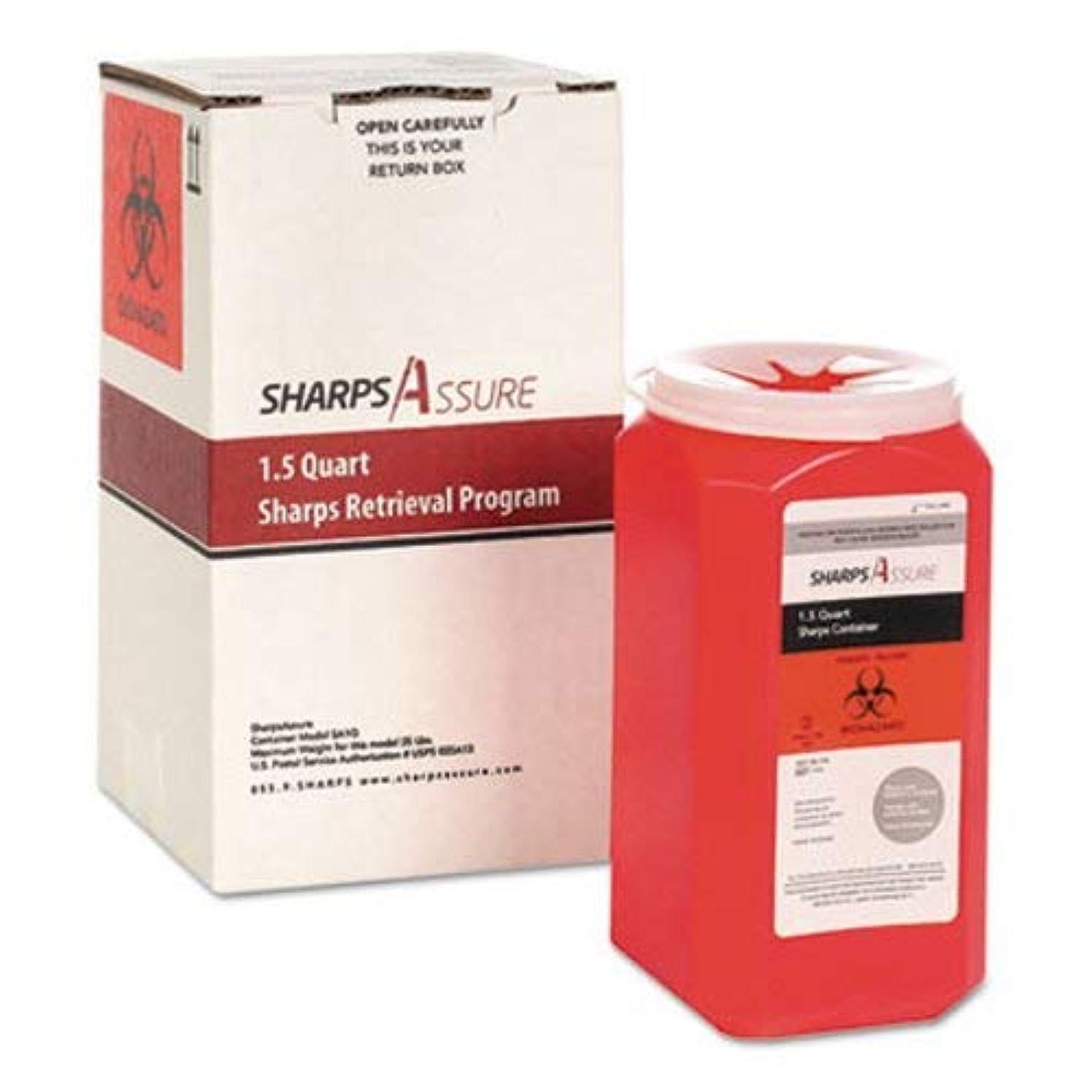 Trustmedical Sharps Retrieval Program Containers 1.5 qt, Plastic (TMDSC1Q424A1Q)