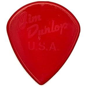 Dunlop DL P 0010 47P3 N Nylon Jazz III Players Pick (6-Stück)