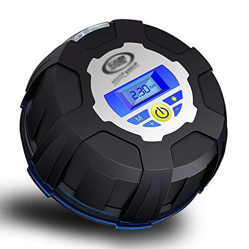 Edelehu Tragbare Auto-Luft-Voreinstellung Reifendruck Matratzen Betten Boote Schwimm Ring Quick-Fill Air 12V Autoreifen Inflator Digitale Reifen Pumpe