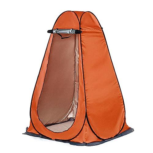 CellLucky Baño de Ducha de privacidad portátil Tienda de campaña al Aire Libre Cobertizo Vestidor de baño UV Letrina Inodoro Observación de Aves Tienda de Cambio con Bolsa(1,5 m,Estados Unidos)