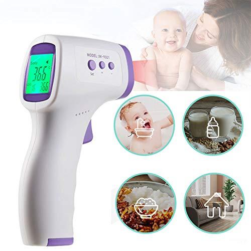 DUBAOBAO infrarood thermometer, thermometer, handheld infrarood thermometer gaas hoge gevoeligheid temperatuur met koorts alarm non-contact lichaamstemperatuur voor volwassenen baby