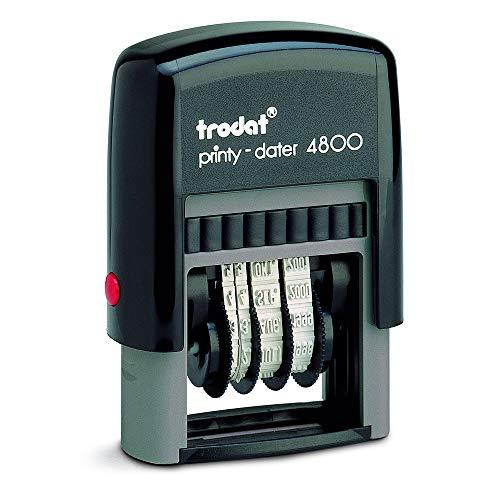 Preisvergleich Produktbild Trodat Printy 4800 Selbstfärbender Datumstempel,  Monat in Buchstaben,  Schrifthöhe 3mm
