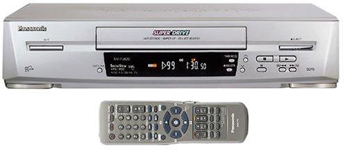 Panasonic NV-FJ620EG-S VHS-Videorekorder Silber