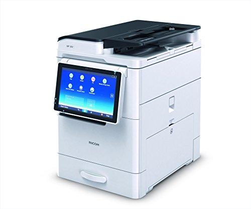 Ricoh MP305+SPF Laser 30 ppm 600 x 600 dpi A3 - Impresora multifunción (Laser, Impresión en Blanco y Negro, 600 x 600 dpi, 260 Hojas, A3, Blanco)