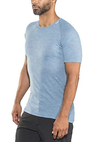 Woolpower Lite T-Shirt, Bleu Modèle S 2021 sous-vêtement