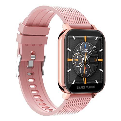TIANYOU Sport Smart Watch con Medición de Temperatura, Actividad Ejercicio Fitness Pulsera Rastreador Ritmo Cardíaco, Monitor de Suspensión, Contador de Calorías, Contador de Pasos,