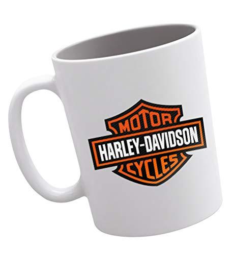 Publiassia Harley Davidson Tazza 5 Collezione Personaggi Decorazioni Idea Regalo Motor Motorcyclist Biker Uomo Donna Passione Moto Veicoli