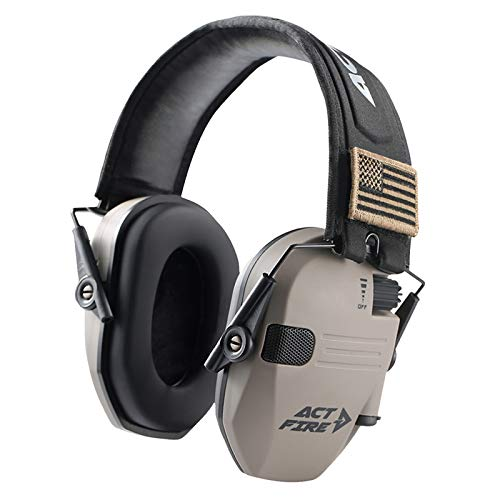 Shooting Earmuff, Electronic Shooting Hearing Ear Protection for Gun Range