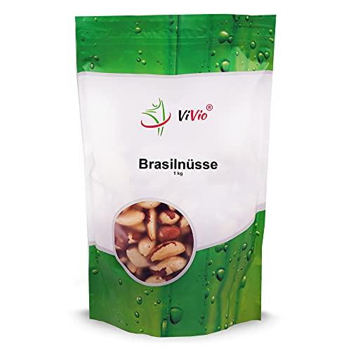 Paranüsse 1 kg Vivio - Brasilnüsse - Vegan - Brazil nuts - Paranusskerne 1kg / Nüsse ohne Bruch -...